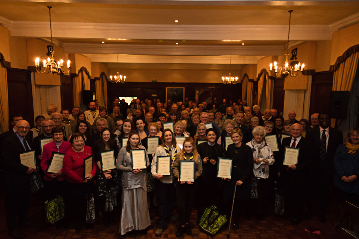 Everyone's a winner at the Amesbury Volunteer of the Year awards!